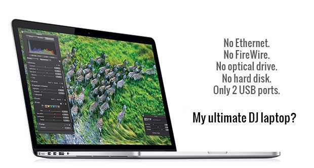 Apple Retina Macbook Pro - the new DJ standard? 4
