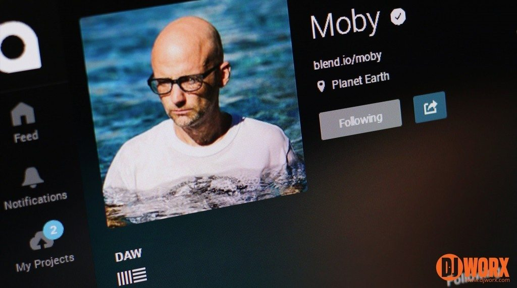 Blend.io Star Power: Moby's profile