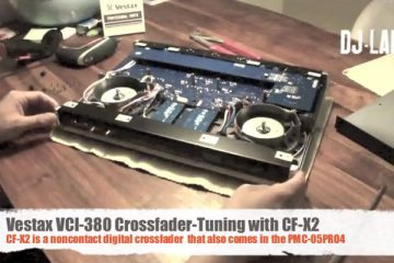 Vestax VCI-380 fader surgery - look away now 6