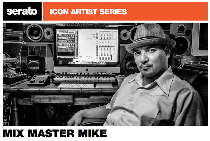 Mix Master Mike - not just a Serato Icon 10