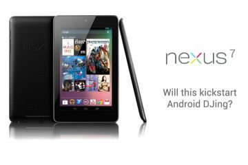 Google Nexus 7 - would you use one for DJing? 8