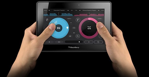 Pacemaker App BlackBerry Playbook