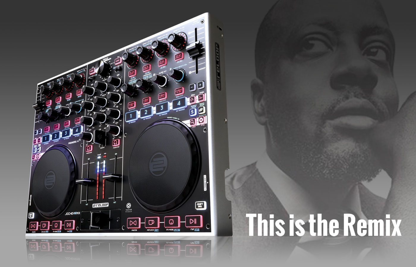 Reloop Jockey 3 — this is the Remix 3