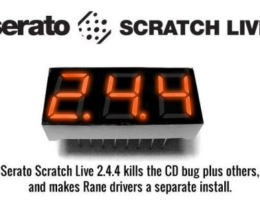 Serato Scratch Live 2.4.4 update