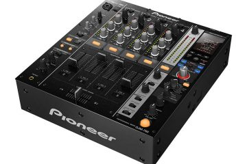 Pioneer DJM-750 DJ mixer 4 channel effects musikmesse 2013 (2)