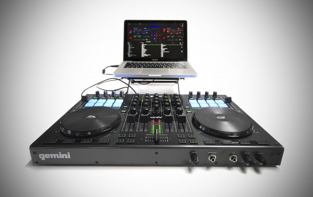 Gemini G4V 4 channel DJ controller review (11)