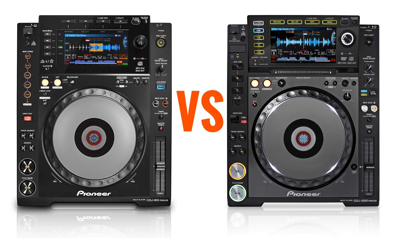 djm 2000 vs djm 900 nexus