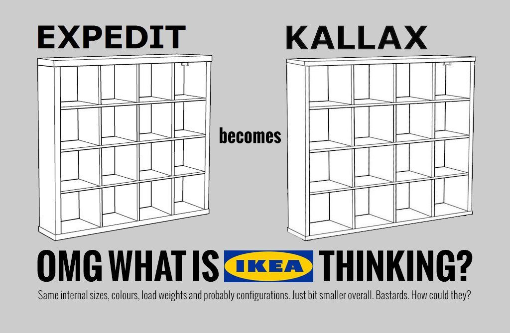 IKEA EXPEDIT is discontinued*. What now? | DJWORX