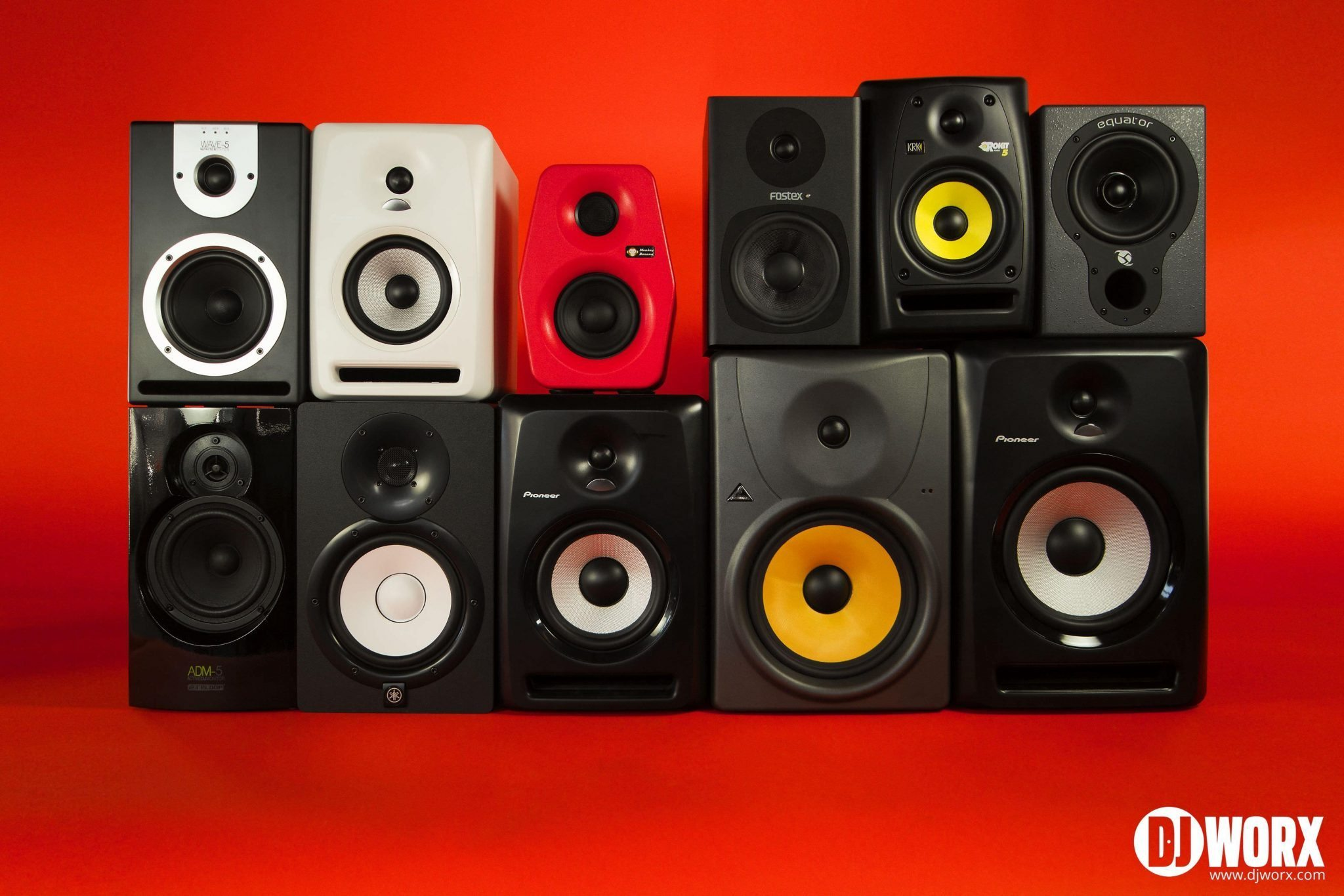 DJ entry level studio monitors group test (8)