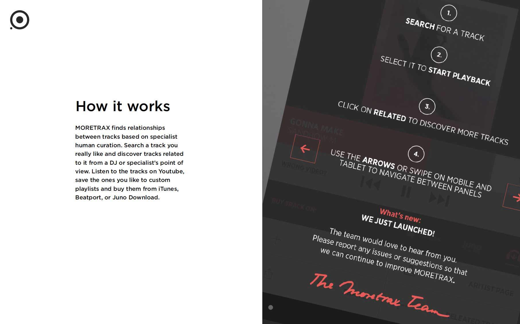 Moretrax and Huurd.it — music discovery for DJs 5