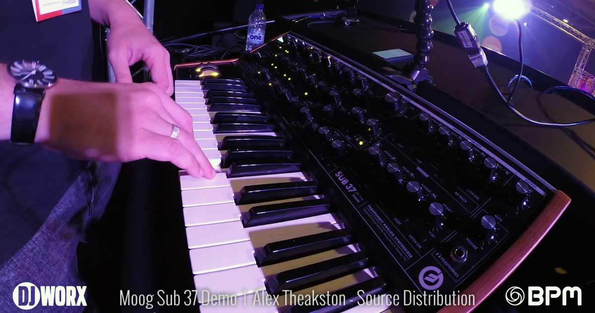 moog sub 37 demo BPM 2014