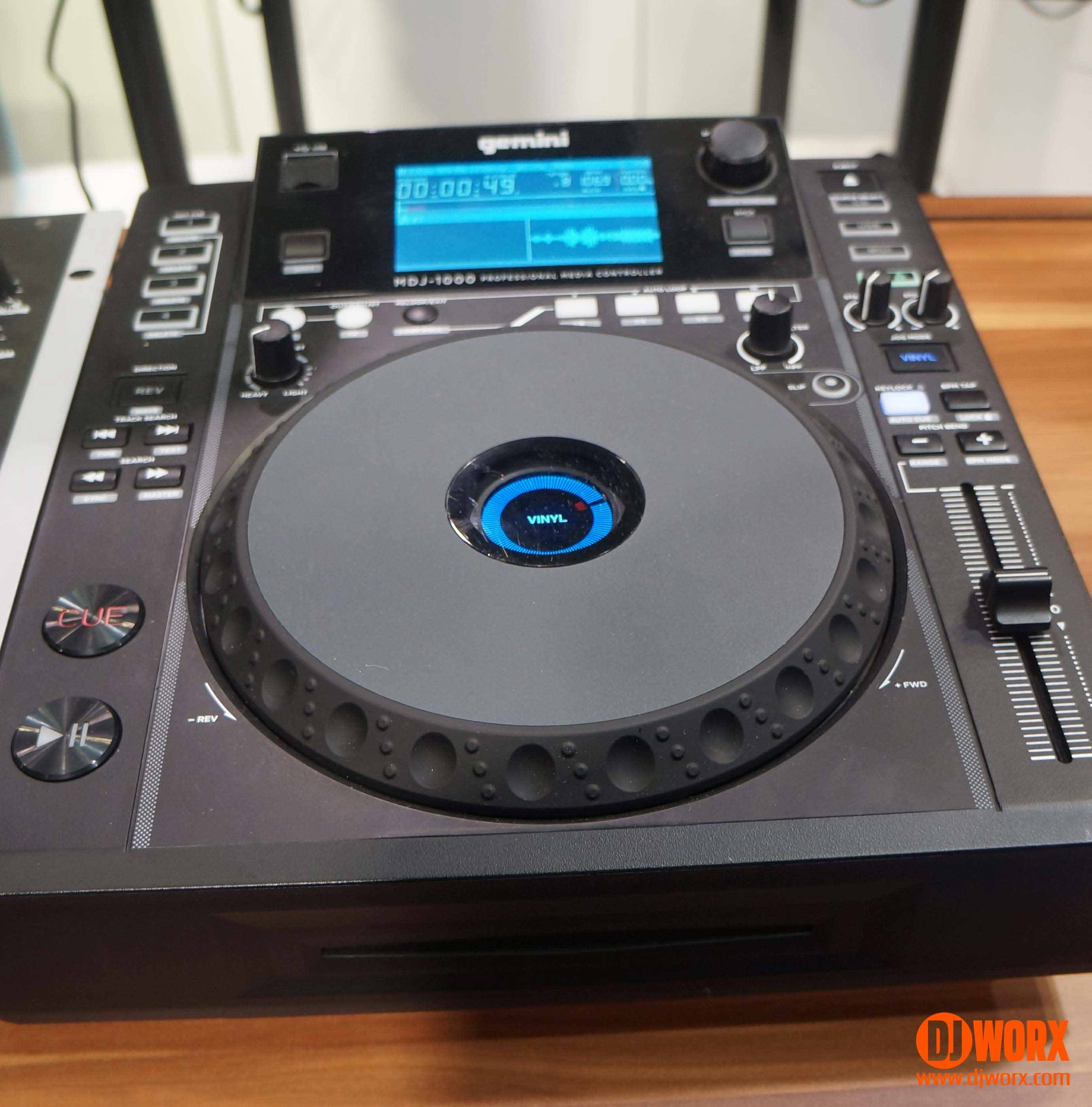 Gemini MDJ-1000 CDJ media player NAMM 2015 (3)