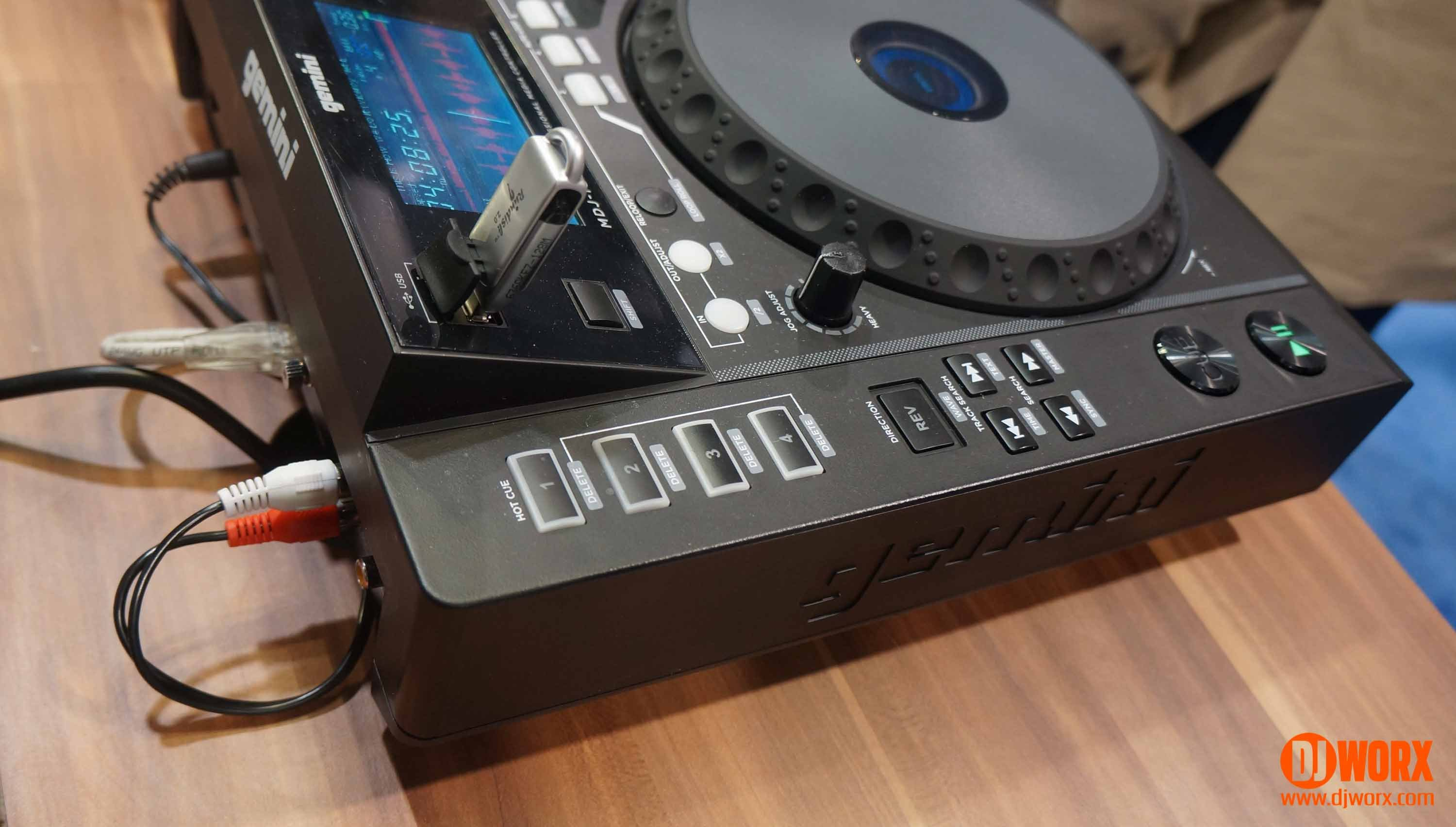 Gemini MDJ-1000 CDJ media player NAMM 2015 (1)