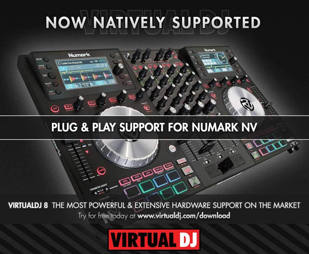 Numark NV virtualDJ 8 VDJ mapping (2)