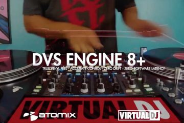atomix power room 4 VirtualDJ vdj8 DVS