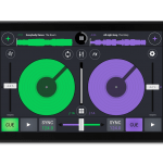 Phablet colors Cross DJ Android 2.3