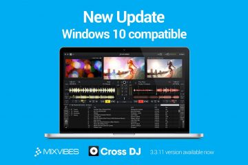 Mixvibes Cross DJ Mac PC 3.3.11 windows 10