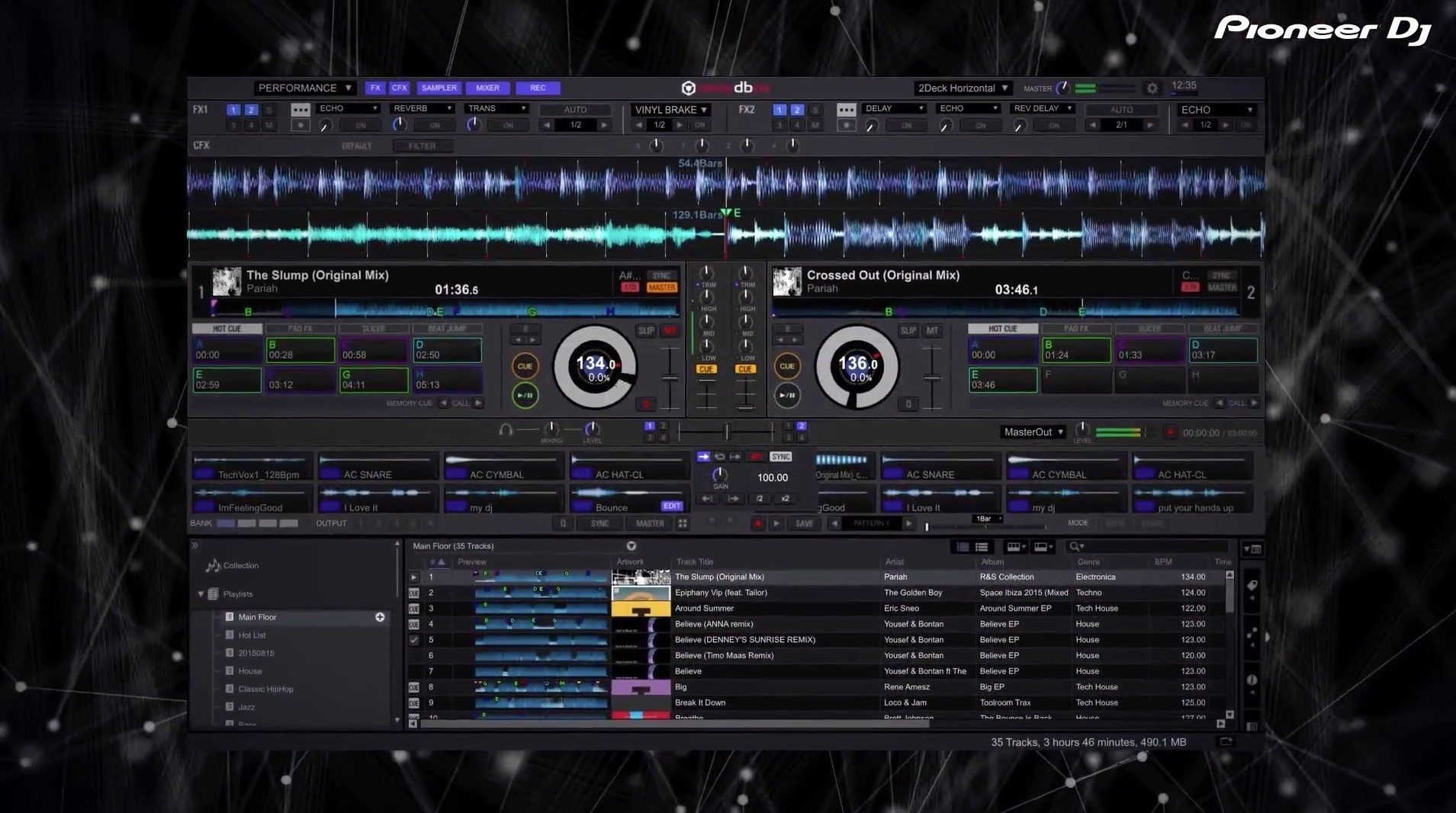 Pioneer DJ rekordbox 4 plus pack software DVS video
