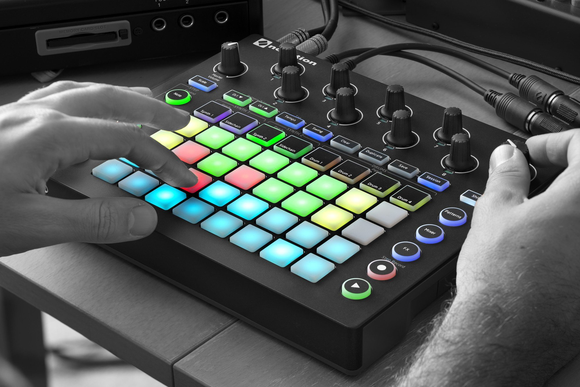 Novation Circuit A Box Of Many Tricks Djworx Can Be Used As Standalone Voice Recorder View 1