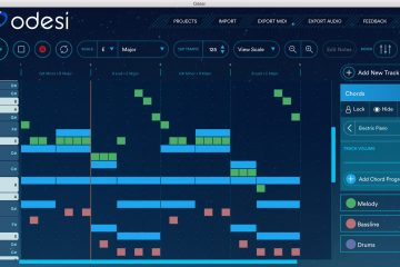 Odesi Music Composition Software