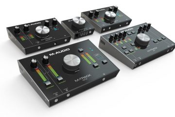 M-Track Series M-Audio