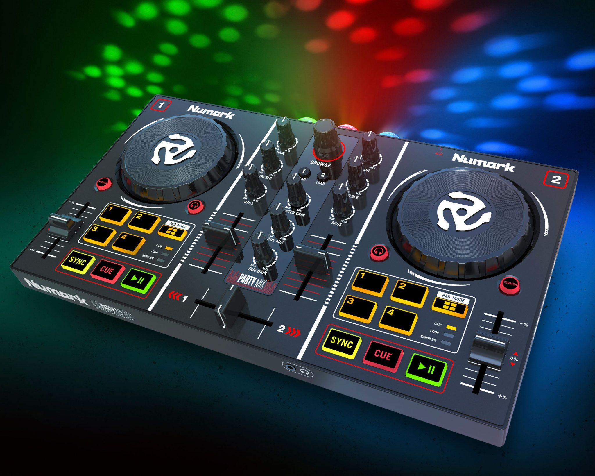 numark party mix it 39 s a party in your bedroom djworx