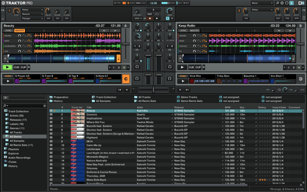 Traktor Pro 2.10.1: Stems for all... well more DJs anyway 4