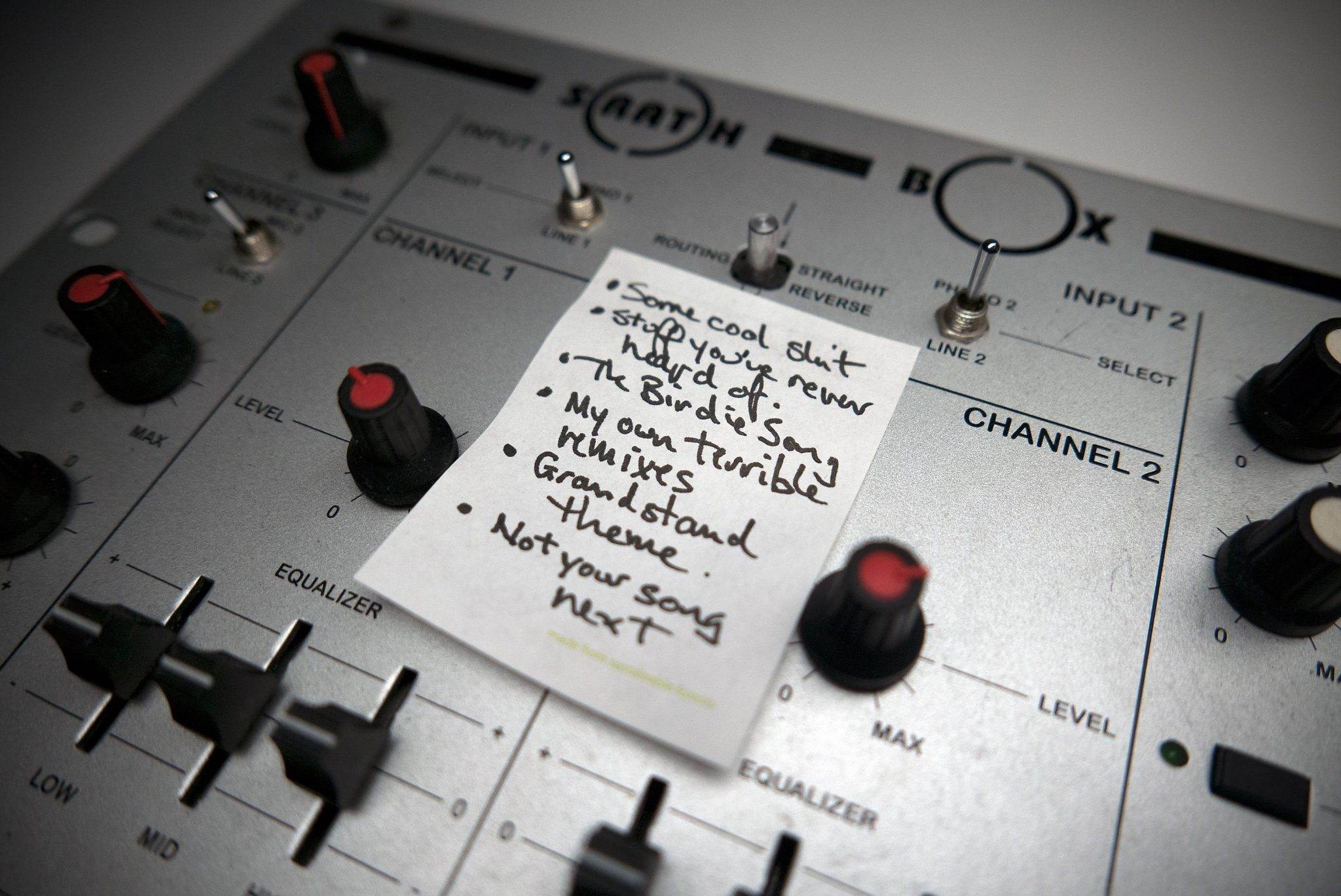 FUN FRIDAY: How to stop clipping on your DJ mixer 6