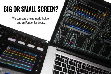 Traktor Stems Screens