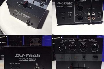 DJ Tech Handy Kutz mixer portable scratching