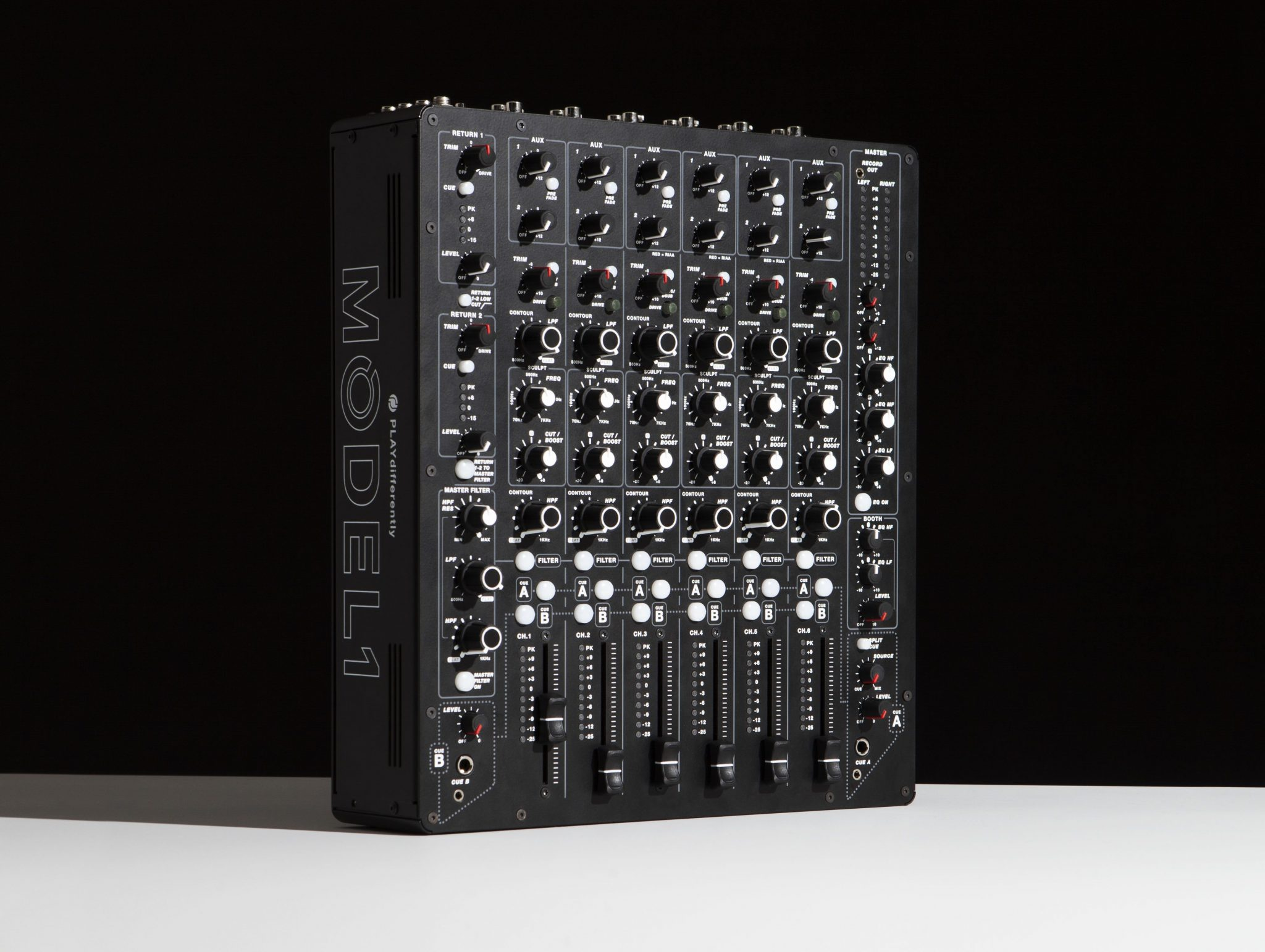 Hawtin's MODEL 1 mixer — PLAYdifferently by name and by nature 1