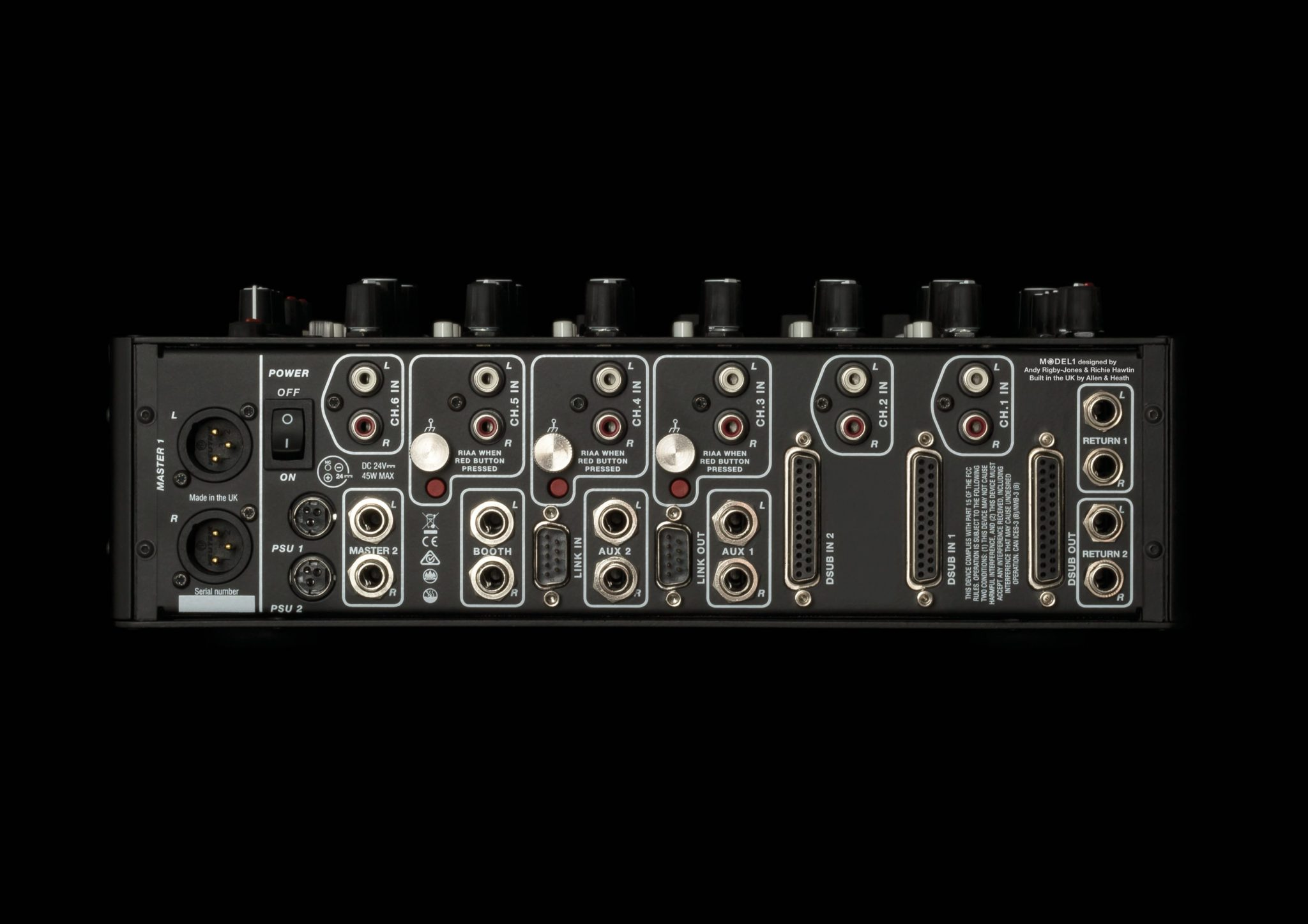 Hawtin's MODEL 1 mixer — PLAYdifferently by name and by nature 3