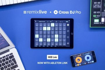 Remix live Cross DJ Pro with Ableton Link Mixvibes