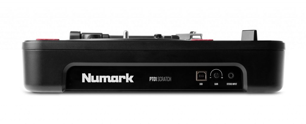 Numark PT01 Scratch portablist portable turntable DJ Expo (3)