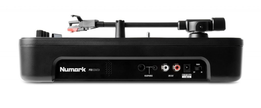 Numark PT01 Scratch portablist portable turntable DJ Expo (2)