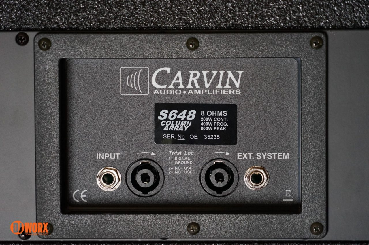 Carvin S600 series PA review (6)