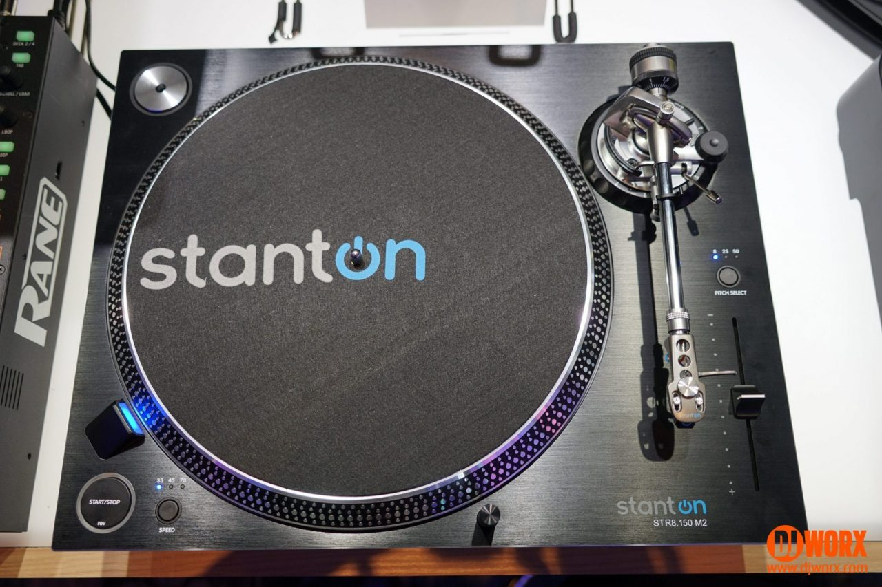 NAMM 2017: New Stanton ST.150 M2 and STR8.150 M2 turntables 3