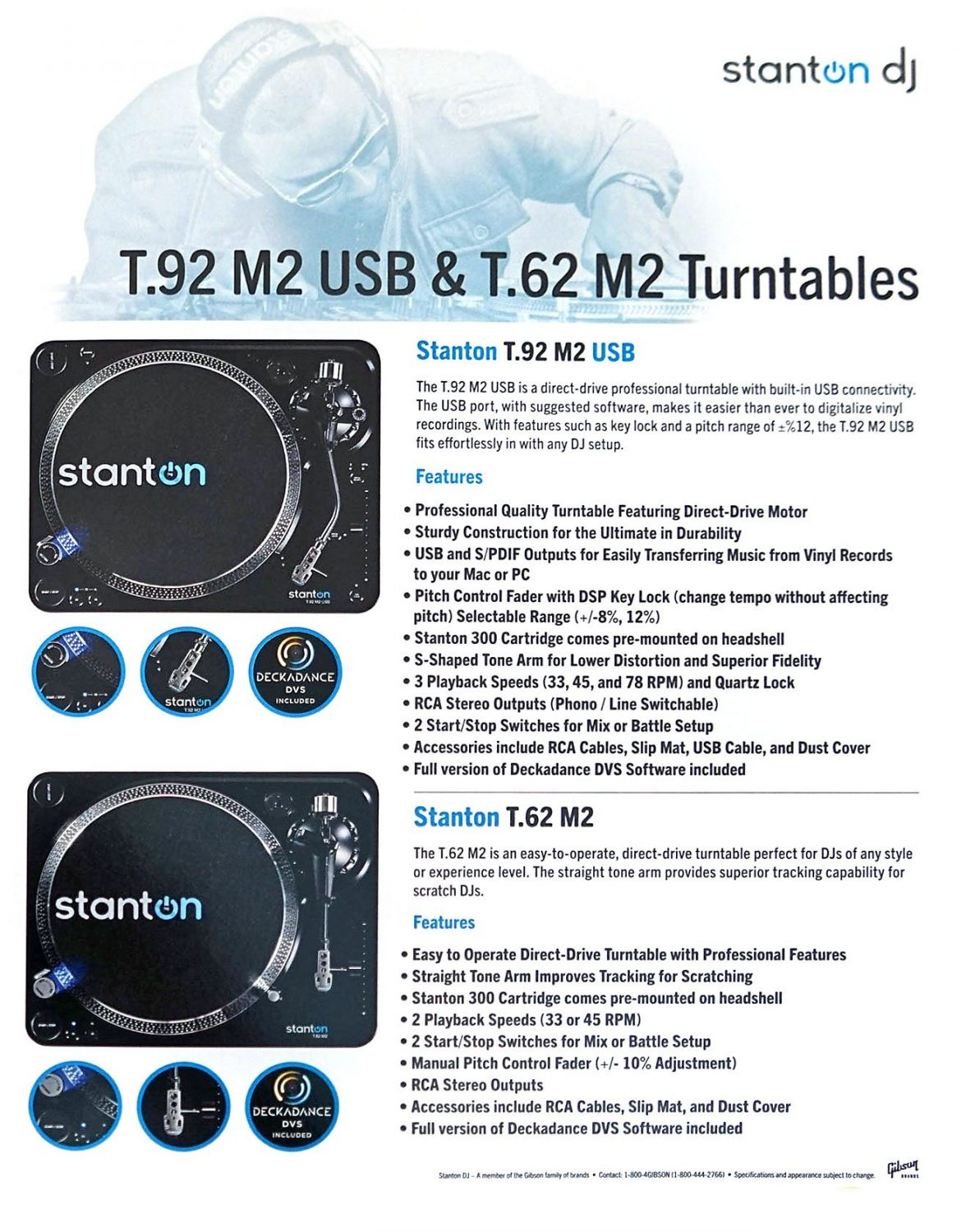 NAMM 2017: New Stanton ST.150 M2 and STR8.150 M2 turntables 5