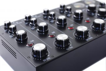 Mastersounds Radius 4 analogue rotary mixer (4)