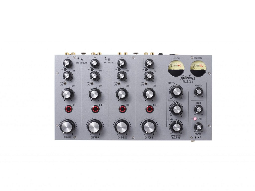 Mastersounds Radius 4 analogue rotary mixer (1)