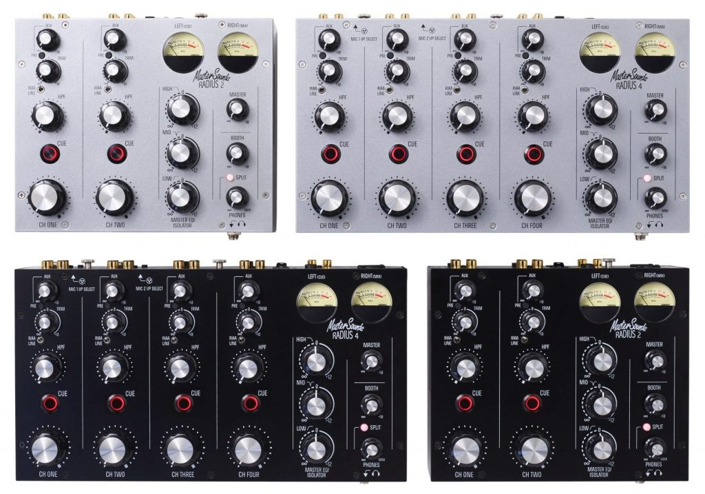Mastersounds Radius 4 analogue rotary mixer (2)