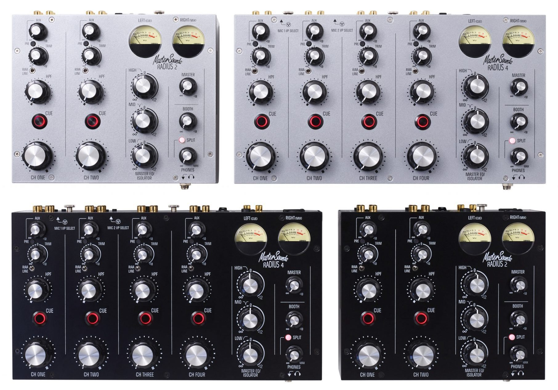 The Radius 4 — more rotary mixer magic from Mastersounds 3