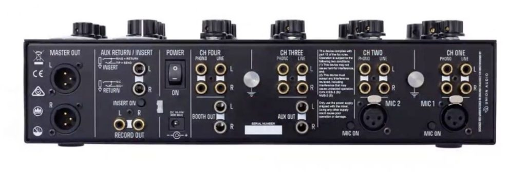 The Radius 4 — more rotary mixer magic from Mastersounds 4