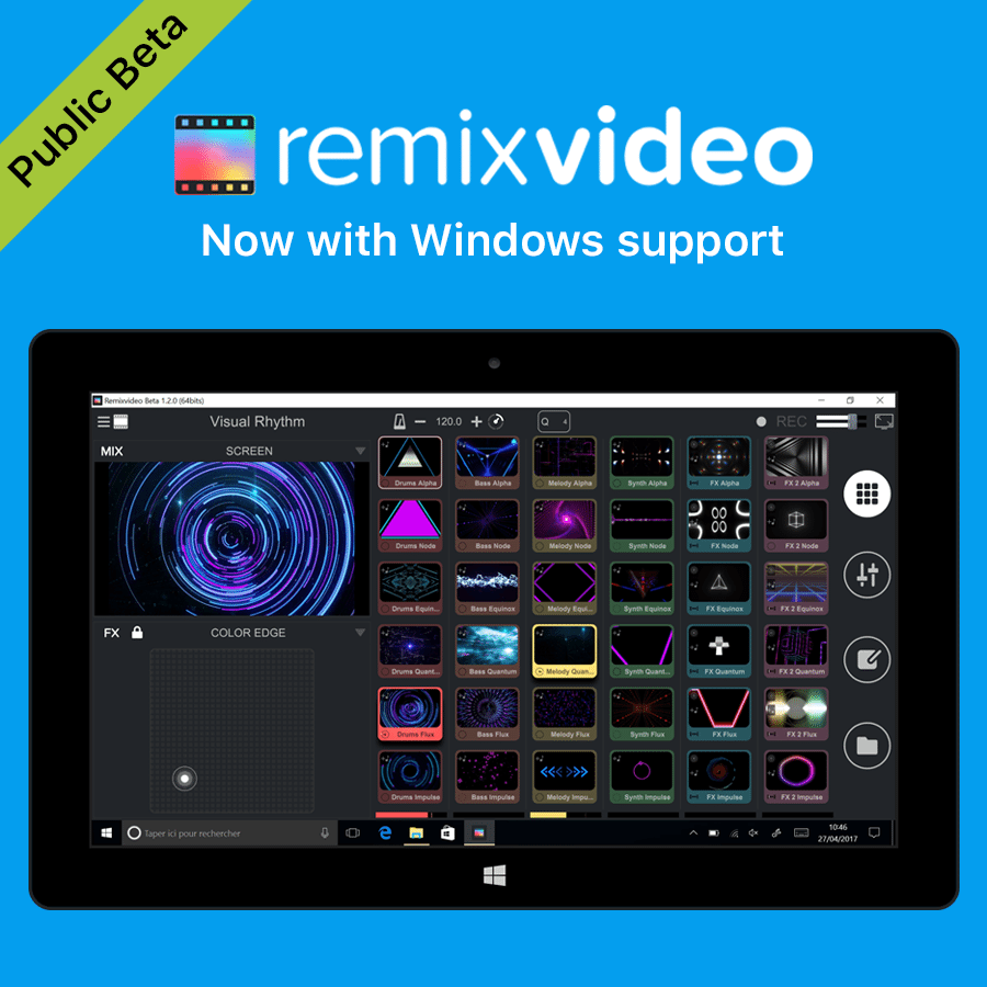PUBLIC BETA: Mixvibes Remixvideo, now for Windows 8