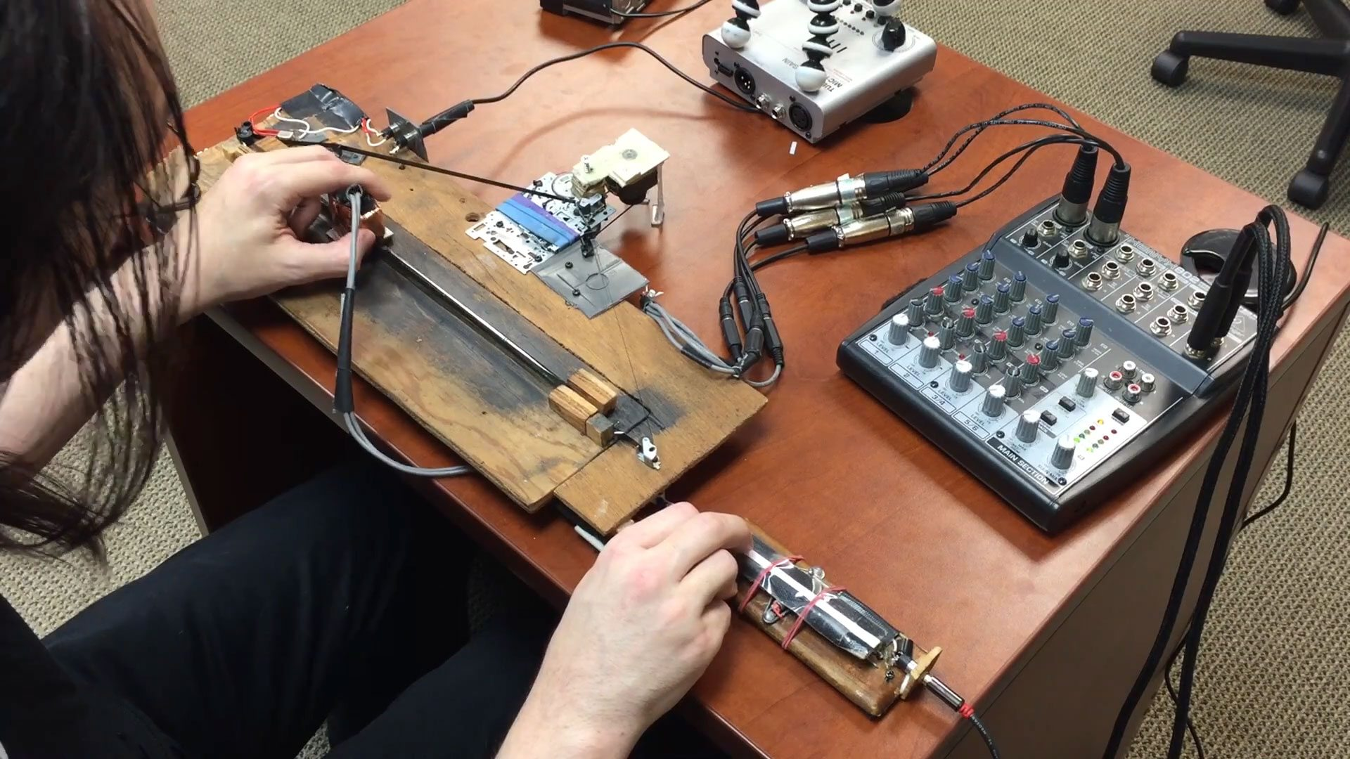 The cassette tape scratching ScrubBoard is back for more 1