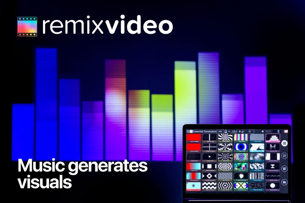 mixvibes remixvideo 1.3 generators video mixing