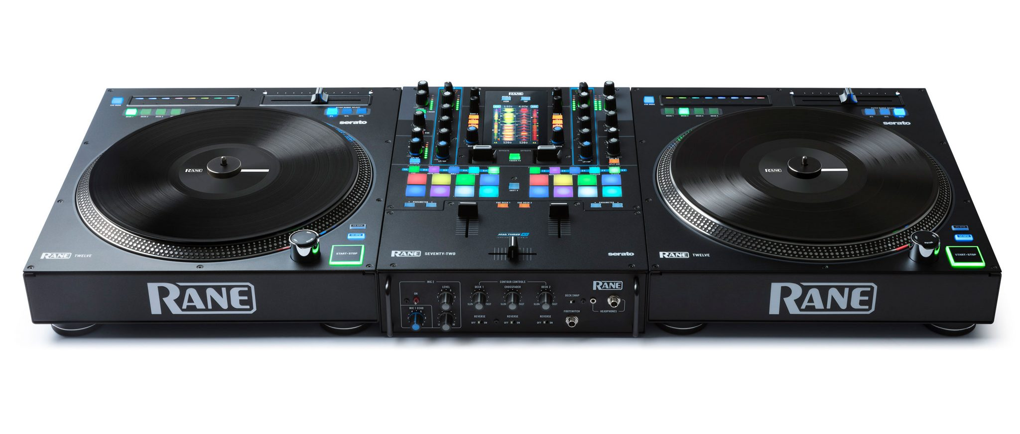 "Rane inmusic Twelve 12"" motorised digital turntable deck controller Serato DJ (7)"