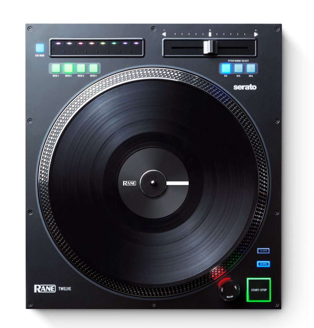 "Rane inmusic Twelve 12"" motorised digital turntable deck controller Serato DJ (3)"