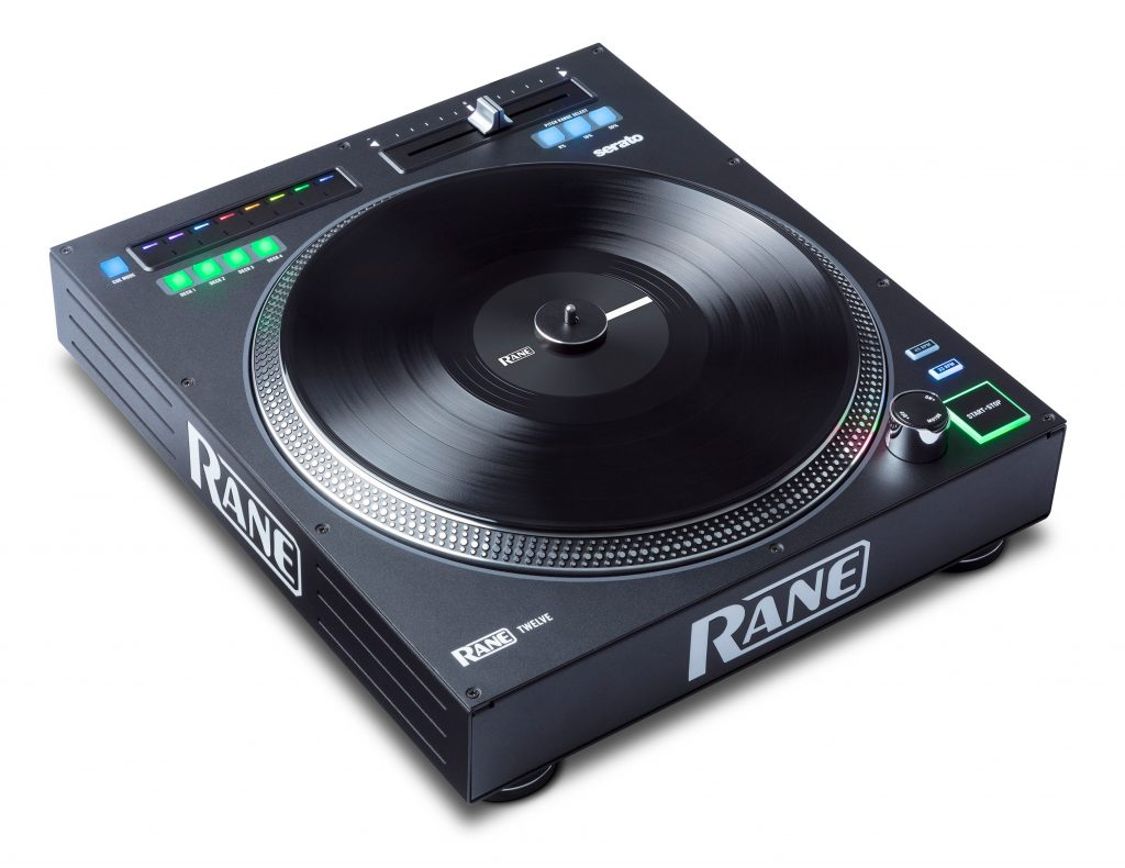 "Rane inmusic Twelve 12"" motorised digital turntable deck controller Serato DJ (6)"