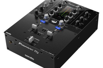 The Pioneer DJ DJM-S3 Serato DJ mixer… looks familiar? 2